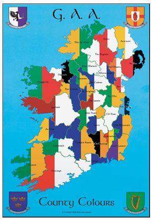 Figure. 4 GAA Counties