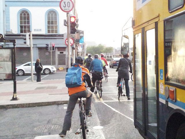 Ormond Quay Cyclists