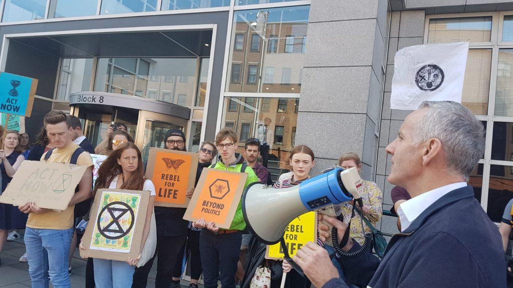Ciaran Cuffe - Green Party MEP for Dublin